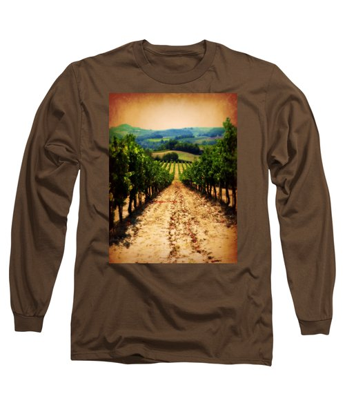 Vigneto Toscana Long Sleeve T-Shirt