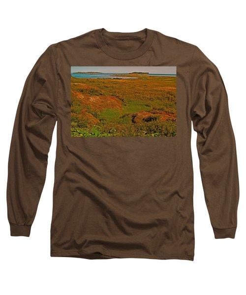 Viking Landing Point At L'anse Aux Meadows-nl Long Sleeve T-Shirt