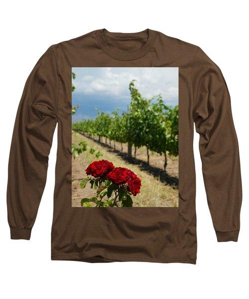 Vineyard Rose Long Sleeve T-Shirt