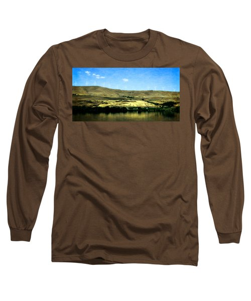 Vineyards On The Columbia River Long Sleeve T-Shirt