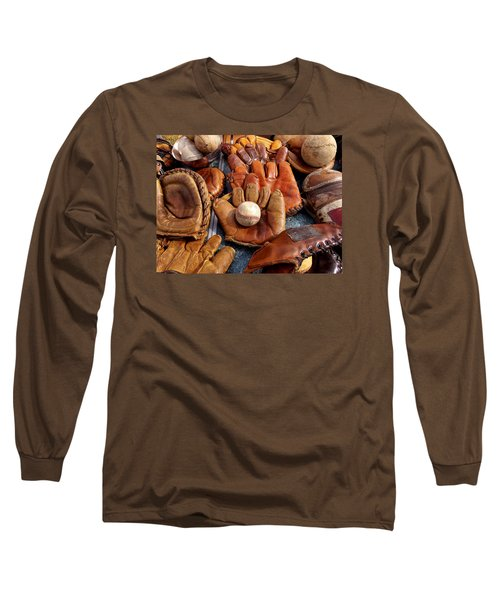 Vintage Baseball Long Sleeve T-Shirt