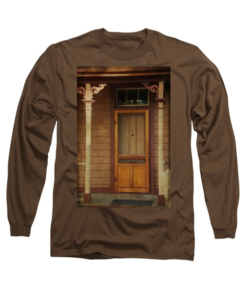 Vintage Doorway Long Sleeve T-Shirt