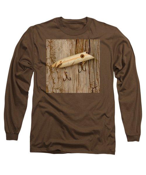 Vintage Fishing Lure Long Sleeve T-Shirt