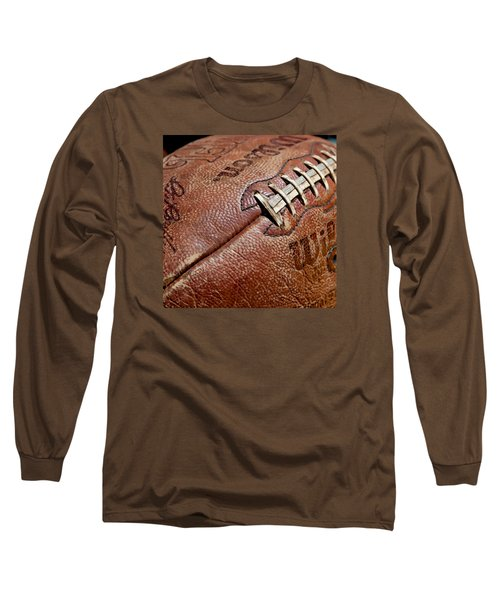 Vintage Football Long Sleeve T-Shirt by Art Block Collections