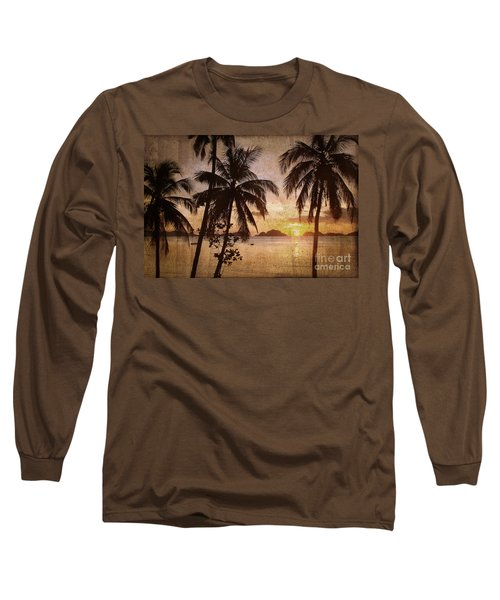 Vintage Philippines Long Sleeve T-Shirt
