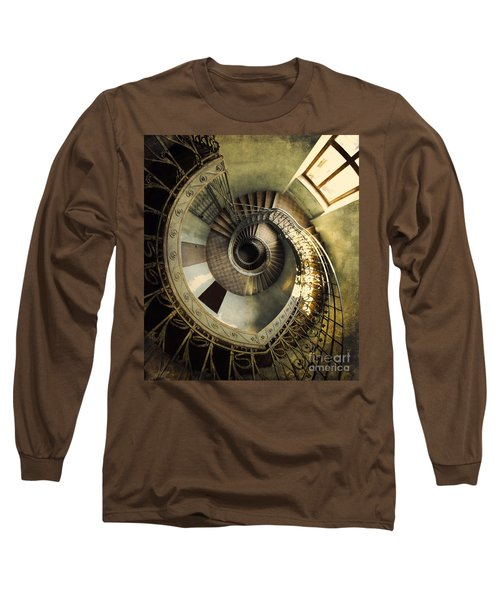 Vintage Spiral Staircase Long Sleeve T-Shirt
