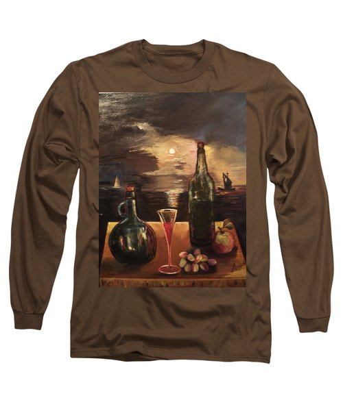 Vintage Wine Long Sleeve T-Shirt
