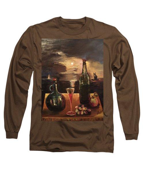Vintage Wine Long Sleeve T-Shirt