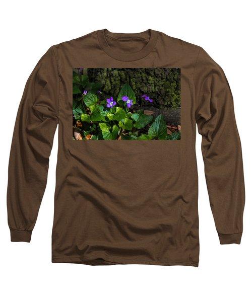 Violets Long Sleeve T-Shirt