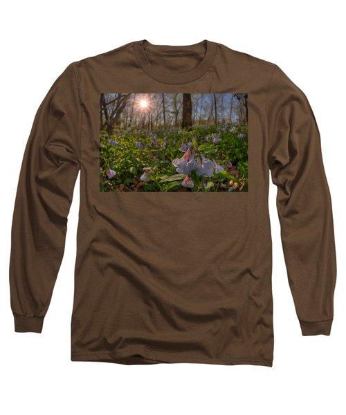 Virgina Bluebells Long Sleeve T-Shirt