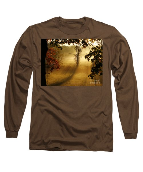 Virginia Sunrise Long Sleeve T-Shirt by Carol Lynn Coronios