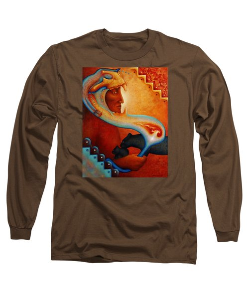 Visions Of A New Earth Long Sleeve T-Shirt