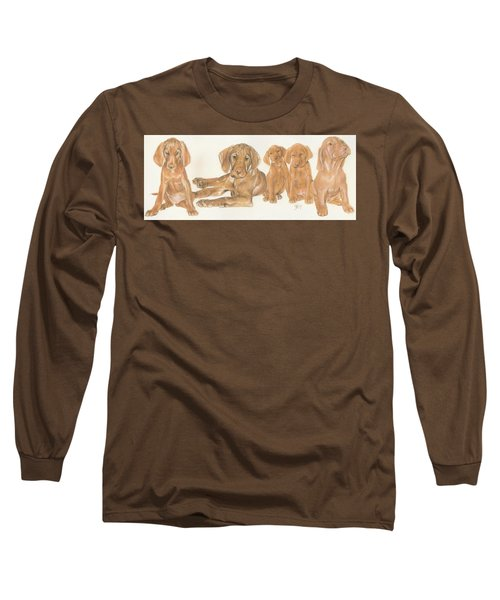 Vizsla Puppies Long Sleeve T-Shirt