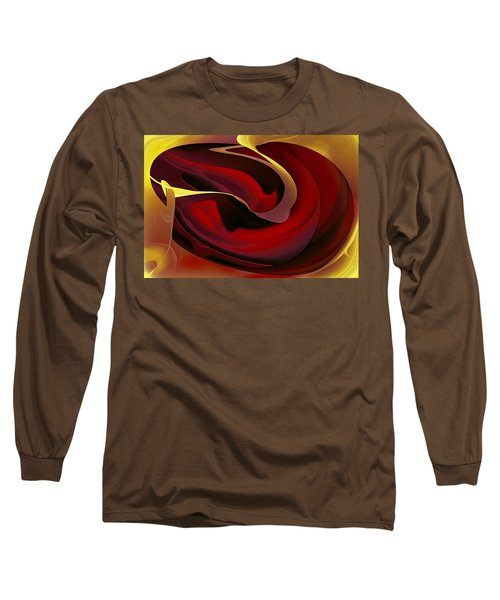 Voluptuous Long Sleeve T-Shirt by Diane Dugas