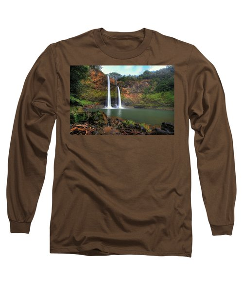 Wailua Falls  Long Sleeve T-Shirt