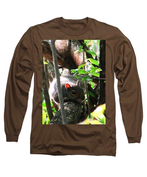 Wait A Minute Long Sleeve T-Shirt