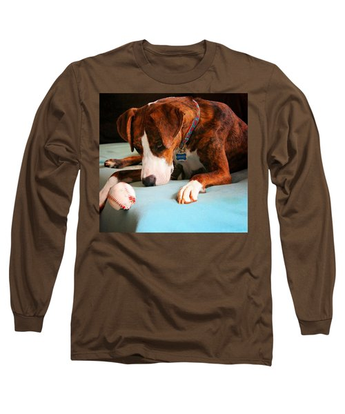 Long Sleeve T-Shirt featuring the photograph Wait For It      Wait For It by Robert McCubbin