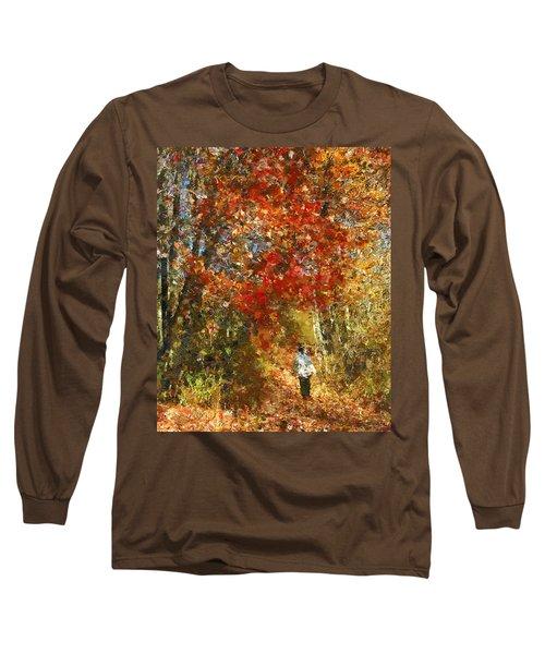 Walk On The Wild Side Long Sleeve T-Shirt