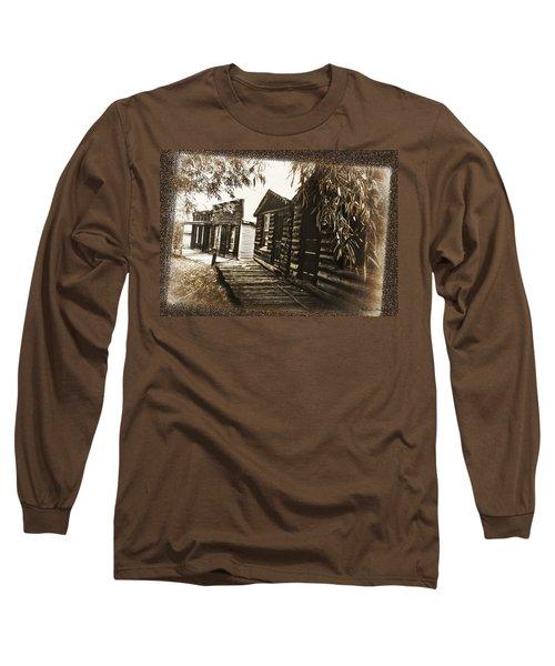 Walking Backwards Long Sleeve T-Shirt