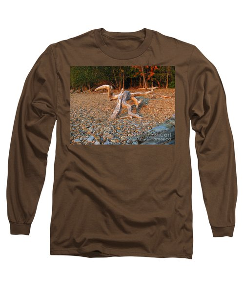 Walking On The Beach Long Sleeve T-Shirt