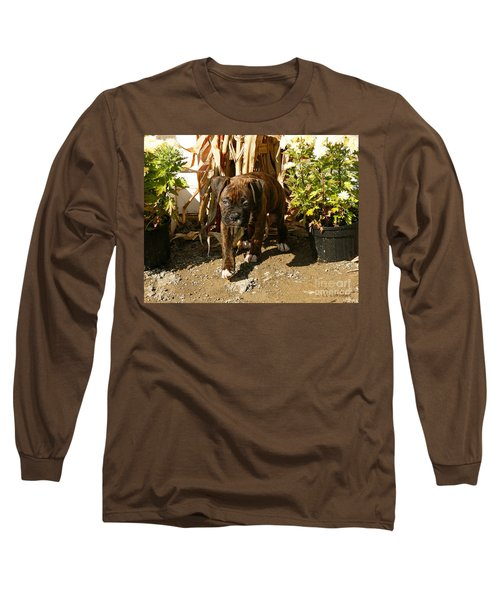 Long Sleeve T-Shirt featuring the photograph Was I Bad? by Carol Lynn Coronios