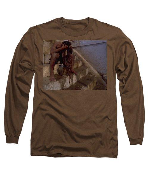 Varanasi Hair Wash Long Sleeve T-Shirt