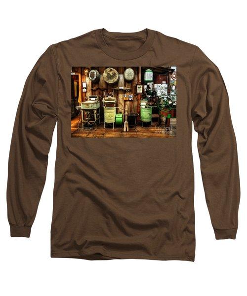 Washing Machines Of Yesteryear Long Sleeve T-Shirt
