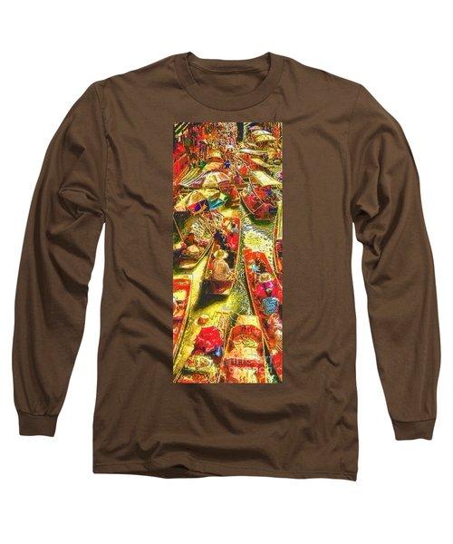 Water Market Long Sleeve T-Shirt