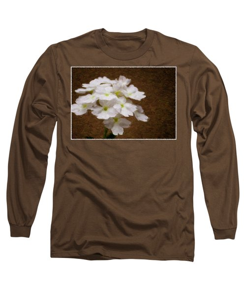 Watercolor Of Daisies Long Sleeve T-Shirt