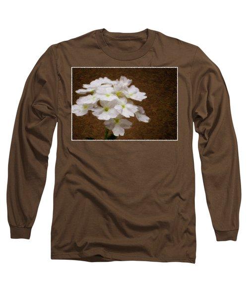 Watercolor Of Daisies Long Sleeve T-Shirt