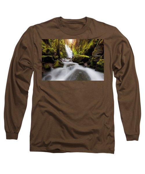 Waterfall Glow Long Sleeve T-Shirt