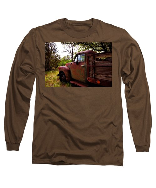 Long Sleeve T-Shirt featuring the photograph Watermelon Truck by Toni Hopper