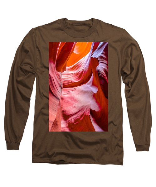 Waves Of Redrock Long Sleeve T-Shirt