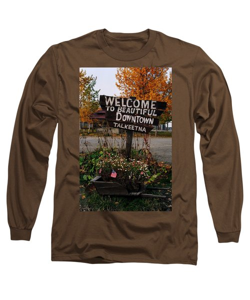 Welcome ... Long Sleeve T-Shirt