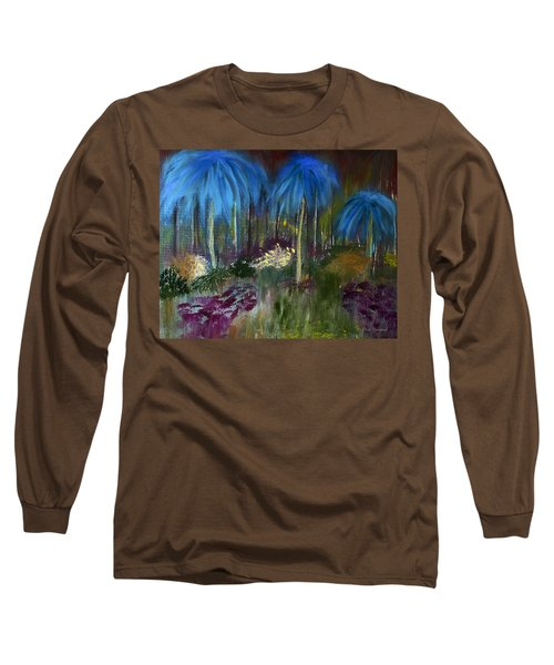 Welcome To The Jungle Long Sleeve T-Shirt by Dick Bourgault