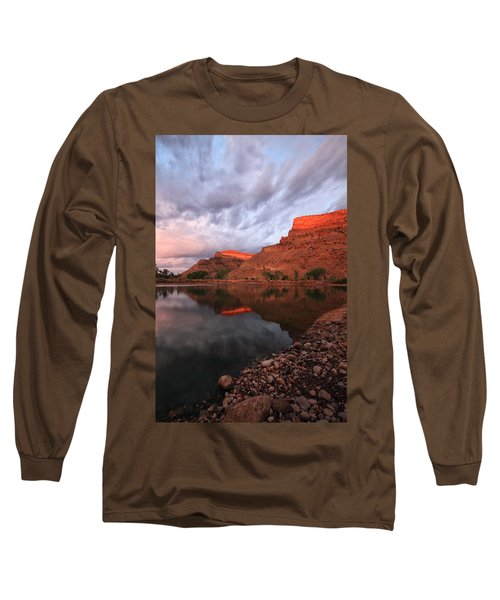 Long Sleeve T-Shirt featuring the photograph Western Colorado by Ronda Kimbrow