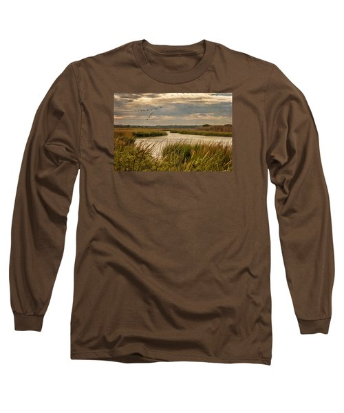 Wetlands In September Long Sleeve T-Shirt