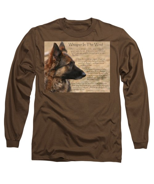 Whisper In The Wind Long Sleeve T-Shirt