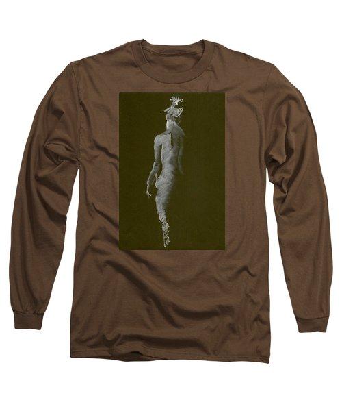 White Back Long Sleeve T-Shirt