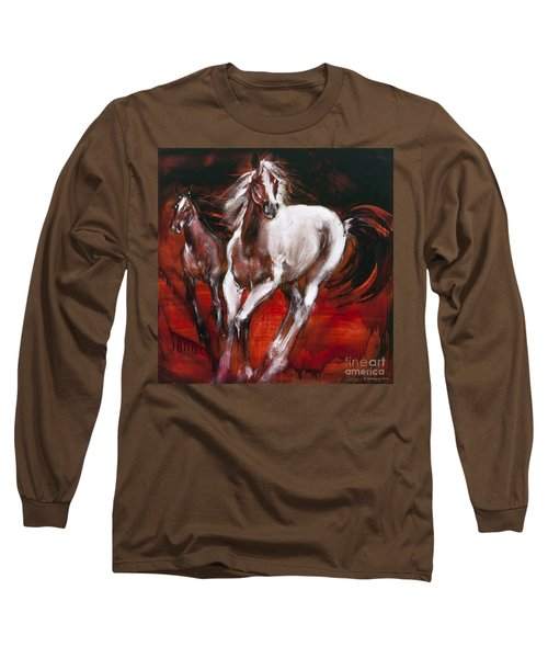 White Knight Long Sleeve T-Shirt
