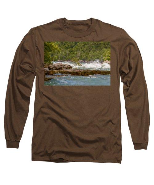 White Water Long Sleeve T-Shirt