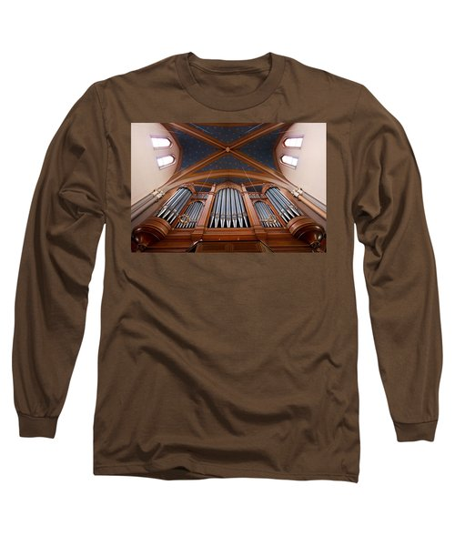 Wiesbaden Marktkirche Organ Long Sleeve T-Shirt