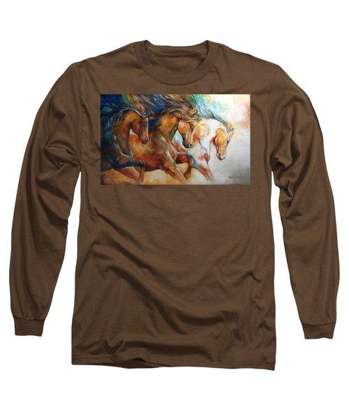 Wild Trio Run Long Sleeve T-Shirt
