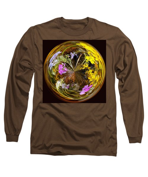 Long Sleeve T-Shirt featuring the photograph Wildflower Paperweight by Gary Holmes