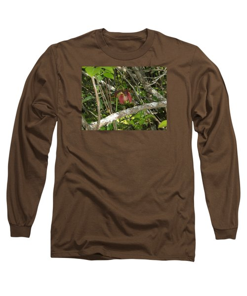 Long Sleeve T-Shirt featuring the photograph Wildflower by Robert Nickologianis