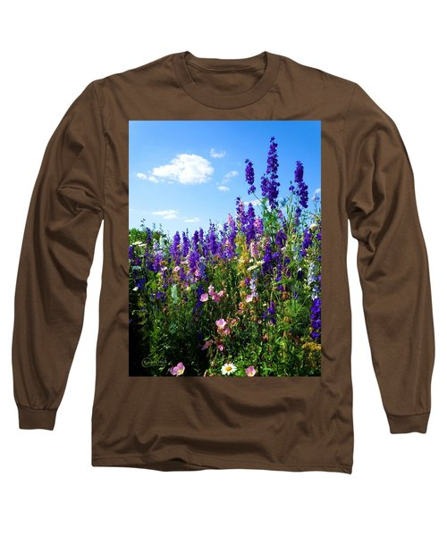 Wildflowers #9 Long Sleeve T-Shirt