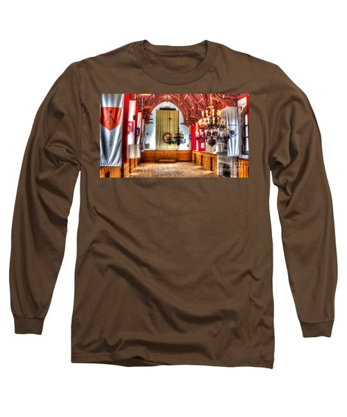 Willard Straight Hall Cornell University Long Sleeve T-Shirt