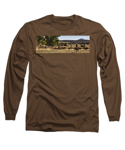 Williamson Valley Roundup 6 Long Sleeve T-Shirt by Priscilla Burgers