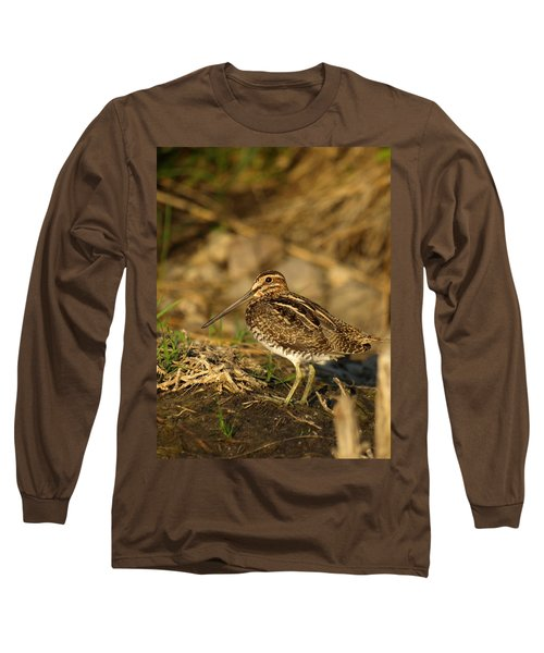 Wilson's Snipe Long Sleeve T-Shirt by James Peterson