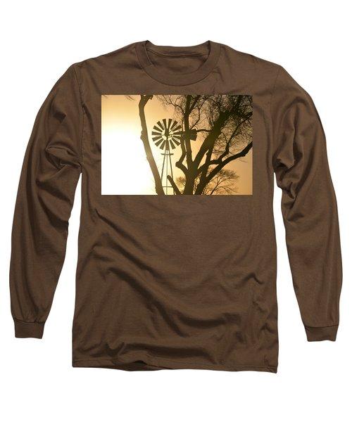 Spinning In The Sundown Long Sleeve T-Shirt